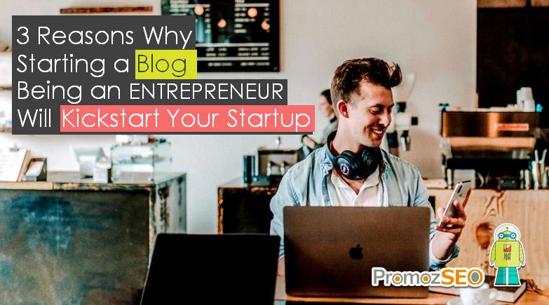 blogging-kickstarts-startup