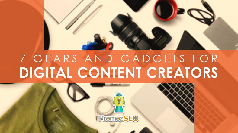 gadgets digital content creators