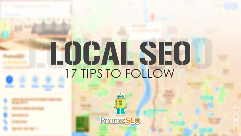 local seo tips map ranking