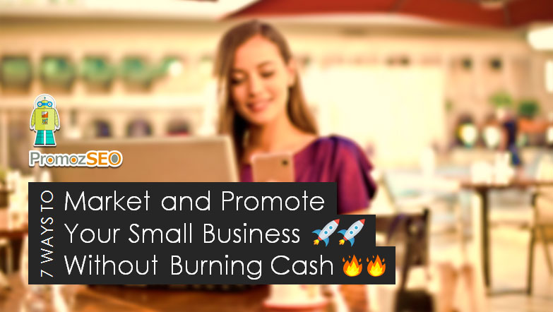 low budget small business marketing promotion