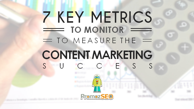 metrics measure content marketing success