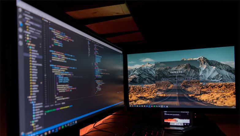 monitor for digital content creators