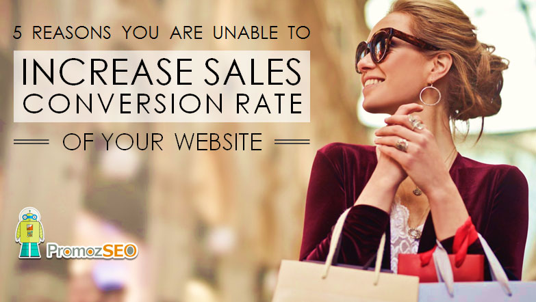 increase website sales conversion rate