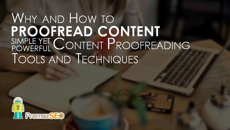 content proofreading techniques