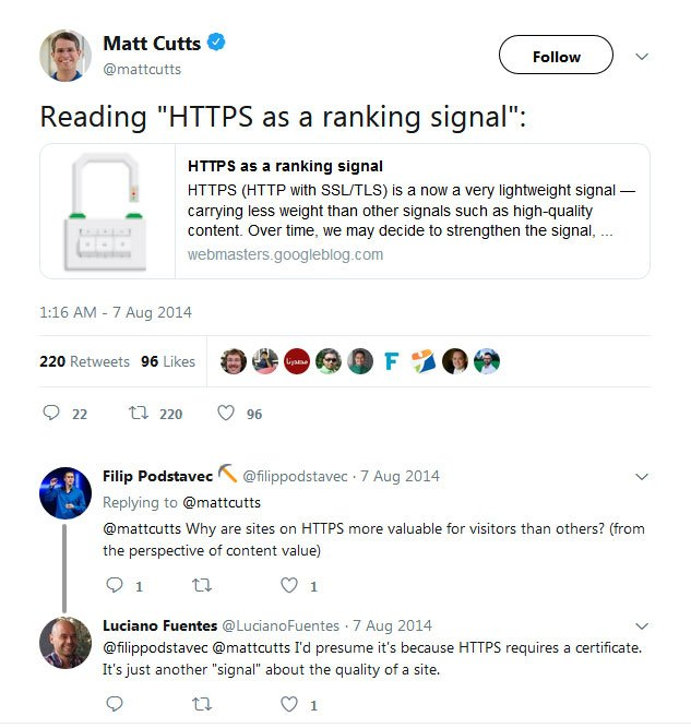 matt cutts https seo