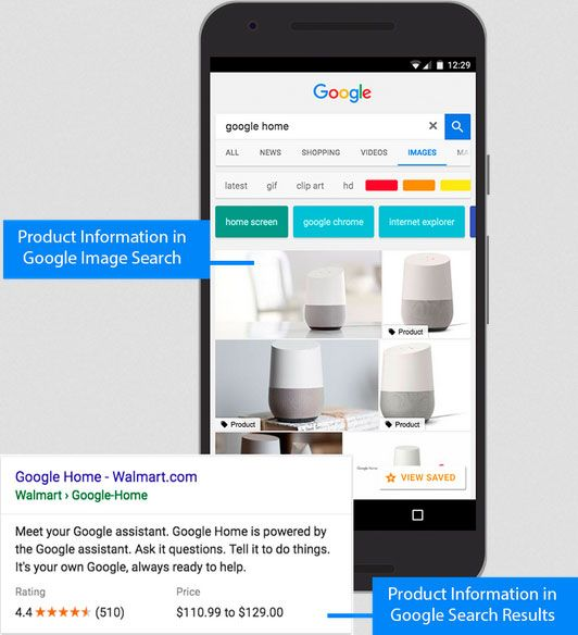 product image schema markup