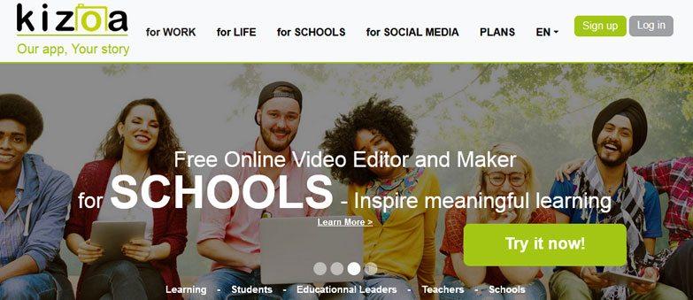 kizoa online video maker