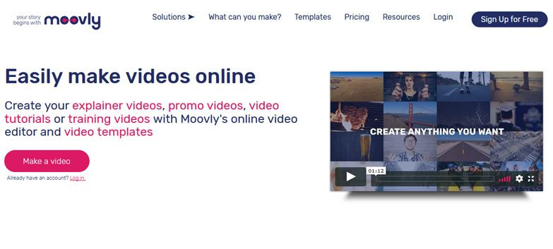 moovly online video maker