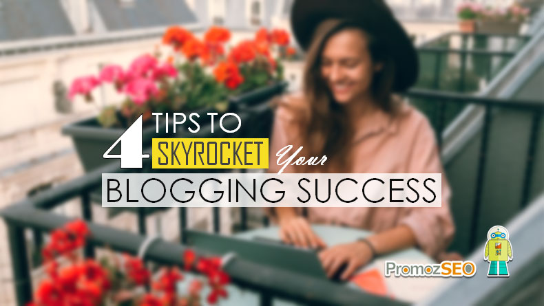 tips for blogging success