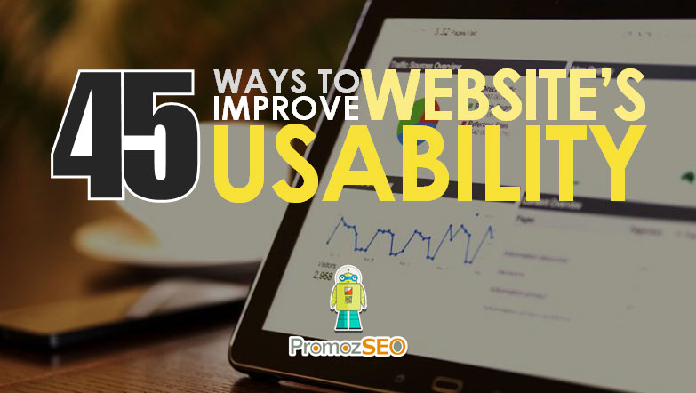 how to improve website's usability