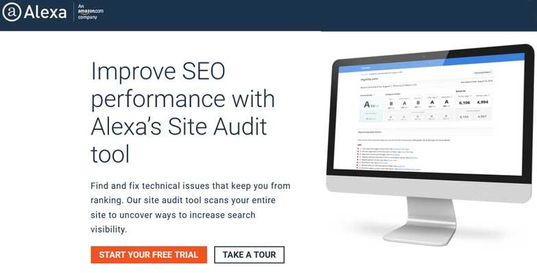 outil d'audit alexa seo