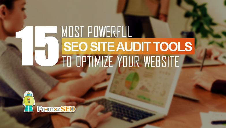 outils d'audit de site de référencement