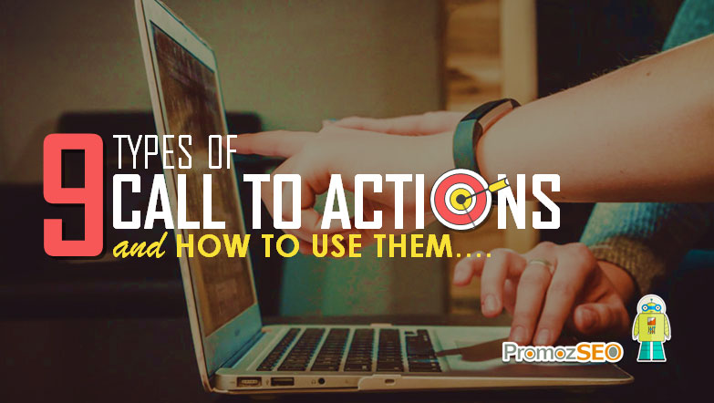 call to action types