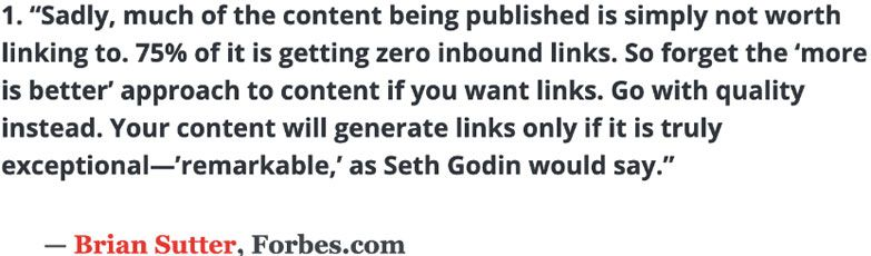 link building quotes