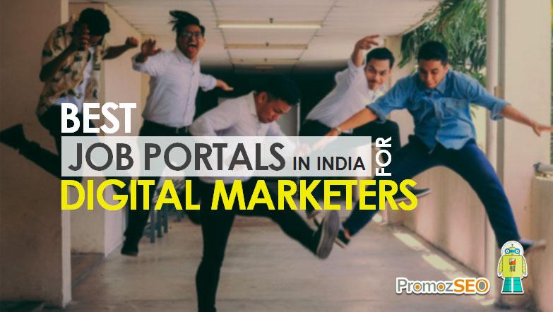 digital marketing job sites india